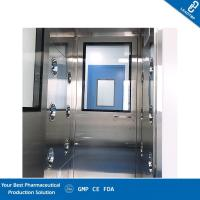 China Laboratory Clean Room Equipment Stainless Steel Static Type Cleanroom Pass Through Box on sale