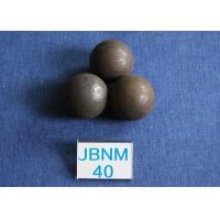 China Cement Plants Grinding Steel Balls Ball B2 D40mm , Grinding Balls for Mining 63-64hrc wholesale