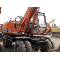 China Used Wheel Excavator Hitachi EX160WD / Wheel Excavator Hitachi EX160WD on sale
