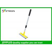 China PP Sponge Iron Material Window Cleaning Squeegee With Telescopic Handle wholesale