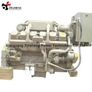 Buy cheap Cummins Turbocharged Diesel Engine V -12 Cylinder 4 Stroke Marine Diesel Engine KTA38- M from wholesalers