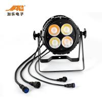 China 200Watt DJ Stage Lights 4 Eyes Cob 120 LED Par Lamp Energy Saving wholesale