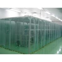China Aluminum Alloy / Stainless Steel Clean Room Equipment PVC Softwall Clean Booth on sale