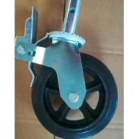 China Small Large Scaffolding Caster Wheel / 5 Heavy Duty Locking Casters on sale