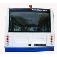 China 4 Stroke Diesel Engine Ramp Bus , 110 Passenger Luxury Airport Shuttles wholesale