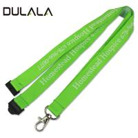 China 2018 Hot sale printed your own logo breakaway woven neck lanyard wholesale
