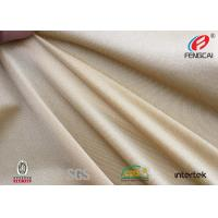 UPF 50 Polyester Spandex Fabric  Moisture Wicking Material 200gsm Eco Friendly