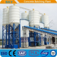 China FDA HLS240 High Efficiency 4.0m Tower Batching Plant wholesale