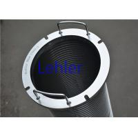 China Lehler Wedge Wire Filter Elements High - Precision Slot Opening Strong Struction wholesale