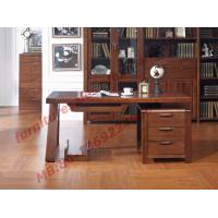 China Solid Wood Antique Design Furniture Desk with Drawers in Home Study Room use wholesale