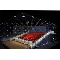 China Popular Theme park 3D cinema system , 4D 5D cinema movie theaters with real leather motion chairs wholesale