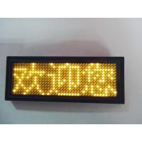 Buy cheap Rechargable Led name sign display panel from wholesalers