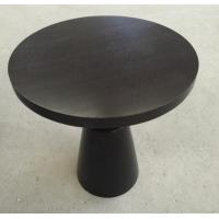 China Small Hotel Wooden Dining Room Tables , Wood Top Round Breakfast Table wholesale