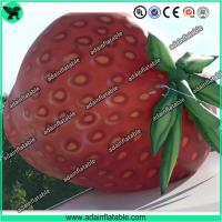 China Event Inflatable Fruits Model/Inflatable Strawberry Replica wholesale