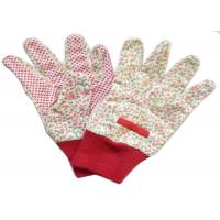 China Reusable Industrial Work Gloves , Cotton Knitted Gloves Fabric Cotton Drill wholesale