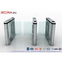 Quality Brushed Surface Speed Gate Fastlane Turnstile Half Height Turnstile With for sale