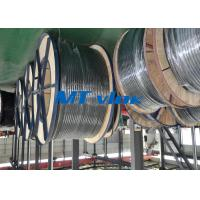 China ASTM A269 / ASME SA269 Stainless Steel Coiled Tubing , coiled stainless tubing wholesale