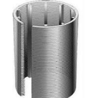 China Stainless Steel Wedge Wire Screen Pipe Water Well Screen For Liquid Filter wholesale