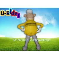 China Commercial Grade Inflatable Advertising Products , Large Inflatable Advertising Man wholesale