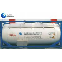 China R134a Refrigerant Gas In Bulk ISO Tank For Cooling / Auto AC Refrigerant wholesale