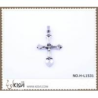 China Hot sell 316 Stainless Steel Cross Pendant H-L1531 wholesale