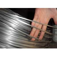 China High Tensile Steel Oval Hot Dipped Galvanized Wire For Cattle Fence , 43kg / Roll wholesale