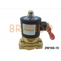 China DN15 Internal Thread Port 2W160-15 Pneumatic Water Diaphragm Valve For Wastewater Treatment wholesale