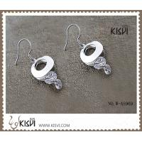 China Fashion 925 sterling silver gemstone earrings with low price and best service W-AS969 wholesale