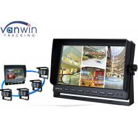 China Rack Mount 10 Inch HD Car TFT LCD On-board Monitor Display with Quad Pictures wholesale