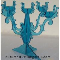China CH (40) decorative Acrylic candle holders wholesale