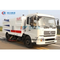 China Dongfeng 9cbm Street Sweeper Vacuum Truck With 10.00R20 Tire wholesale