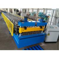 China Color Coated Steel Roof Panel Roll Forming Machine, 6 Ribs Roofing Sheet Roll Former wholesale