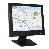 China 17 Inch Black PC Industrial CCTV LCD Monitor Screen TFT High Brightness wholesale