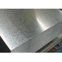 China JIS G3302 Hot Dip Galvanized Steel Sheet 600 - 1500mm Width 3 - 8 Ton Weight wholesale