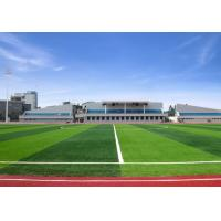 UV Resistant Artificial Football Turf Synthetic Lawn Low Friction Anti Static Light