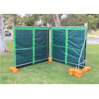 Buy cheap Temporary Noise Barriers for 6'x12' chain link fence panels from wholesalers