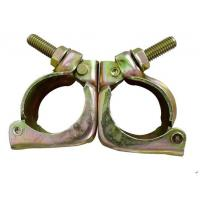 China High Strength Tube And Clamp Scaffolding  Forged Swivel Clamp ROSH Certification wholesale