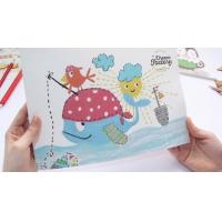 China Children popular Painting book Scrapbook any size any printing wholesale