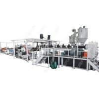 China Thermoforming Packaging Plastic Sheet Extrusion Line 160 Kw Stable Running wholesale