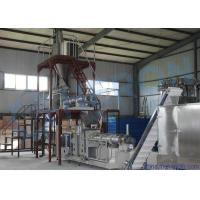 China High Capacity Fish Food Production Line , Stainless Steel Fish Feed Making Machine wholesale