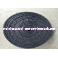 High Tensile Strength Stainless Steel Wire Mesh Screen Dark Gray Acid Resistance