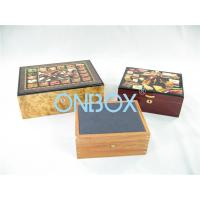 China Luxury Gifts Packaging Painted Wooden Boxes For Cigar , Watch , Jewellry wholesale