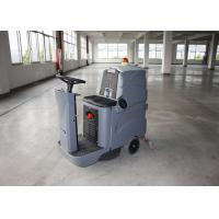 China High Performance Floor Scrubber Dryer Machine , Mini  Ride On Floor Cleaner wholesale