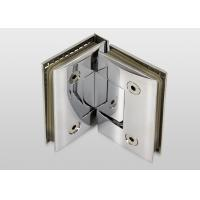 China 90 Degree Wall To Glass Hinges Bracket Screen Hinges Long Time Service Life wholesale