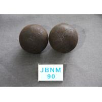 China Steel Hot Rolling Steel Ball Grinding Media  B3 D90mm Core Hardness  58-61hrc wholesale