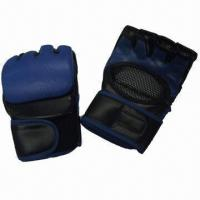 China Boxing Gloves, Used for Fighting Games or Competition, Made of PU on sale