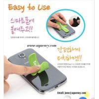 China Universal Portable Touch U One Touch Silicone Stand for iPhone Samsung HTC Mobile Phone on sale