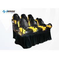 China 6 Seats Motion Chair 7D Cinema Machine With Special Effects 2 Projector wholesale