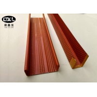 Buy cheap Galvanized Steel Metal Stud U Channel High Durability Good Rust Resistance from wholesalers