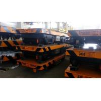 Quality Flat Cart 200 Ton Battery Driven Motorized Transfer Trolley From 47 Years Factory
